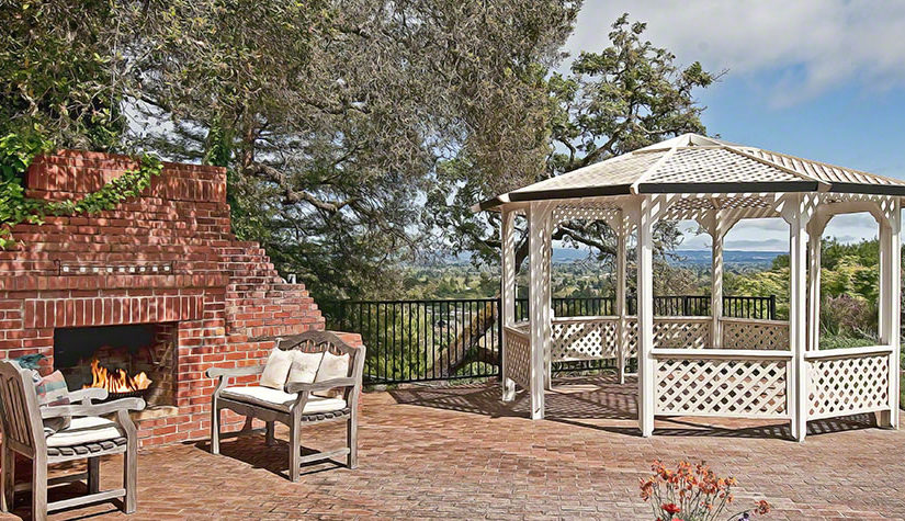 Some interesting outdoor entertainment space ideas